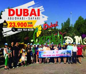 Chương trình Dubai khởi hành tháng 8