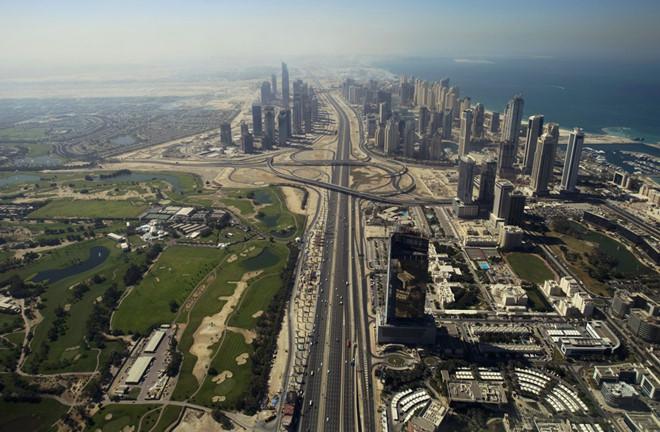 """Con đường """"xịn"""" nhất Dubai - Ảnh 1"""