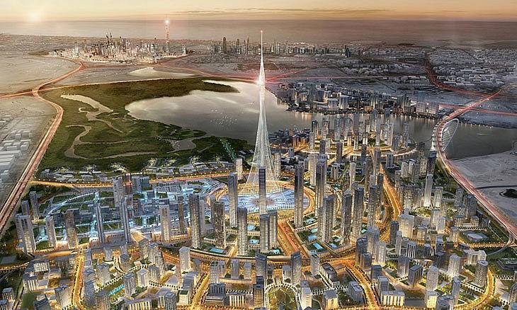 Những công trình cực khủng của Dubai sắp đưa vào du lịch - Ảnh 1