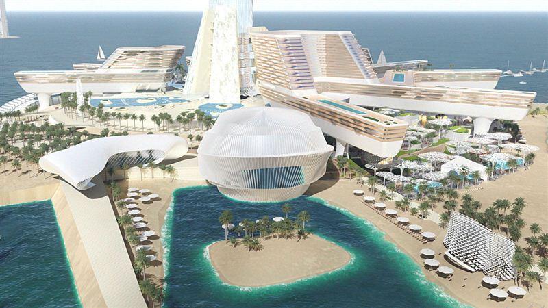 Những công trình cực khủng của Dubai sắp đưa vào du lịch - Ảnh 4