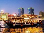 Tour du lịch Dubai khởi hành ngày 24/11: ĂN TỐI TRÊN DU THUYỀN DHOW CRUISE