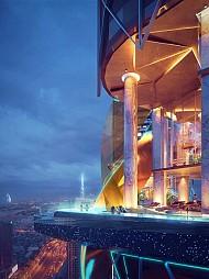 Khách sạn sang trọng tại Dubai có hẳn một khu rừng lớn