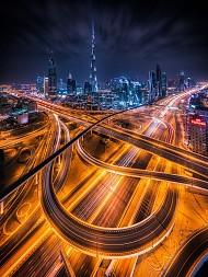 Ngắm nhìn Dubai về đêm đẹp hơn cả tưởng tượng