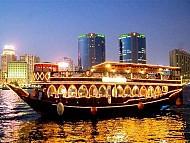 Tour du lịch Dubai khởi hành ngày 24/05/2017 : ĂN TỐI TRÊN DU THUYỀN DHOW CRUISE
