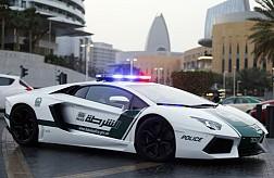 Cảnh sát Du Bai sử dụng siêu xe đi tuần tra
