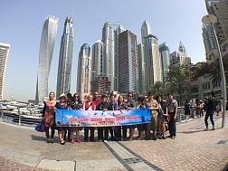Hình ảnh đoàn du lịch Dubai 5/4-10/4/2017 do Vietsense tổ chức