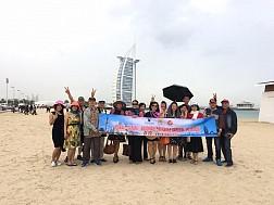 Hình ảnh đoàn du lịch Dubai từ 21/3-26/03/2017 do Vietsense tổ chức