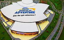 Quên đường về trong công viên giải trí trong nhà lớn nhất thế giới ở Dubai