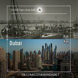 Thành phố Dubai xưa và nay