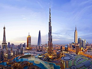 Những nơi chụp ảnh cưới đẹp không tưởng ở Dubai