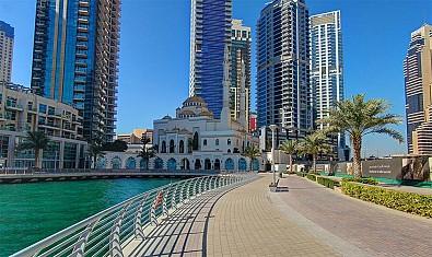 Đến với khu phố đi bộ Marina Walking
