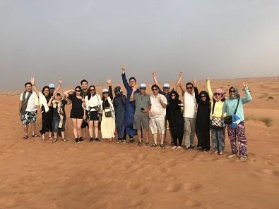 Hình ảnh đoàn Dubai 17/8-22/8/2017