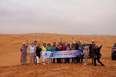 Hình ảnh đoàn du lịch Dubai từ 22/02 - 27/02/2017 cùng Vietsense