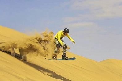 Khám Phá Những Trò Chơi Mạo Hiểm Thót Tim Trên Cát Ở Dubai