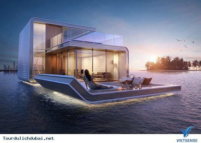 Dự án điên rồ với biệt thự giữa biển của Dubai - Ảnh 3