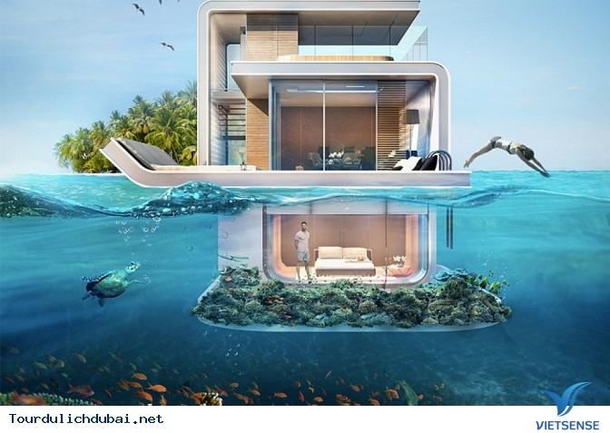 Dự án điên rồ với biệt thự giữa biển của Dubai - Ảnh 1