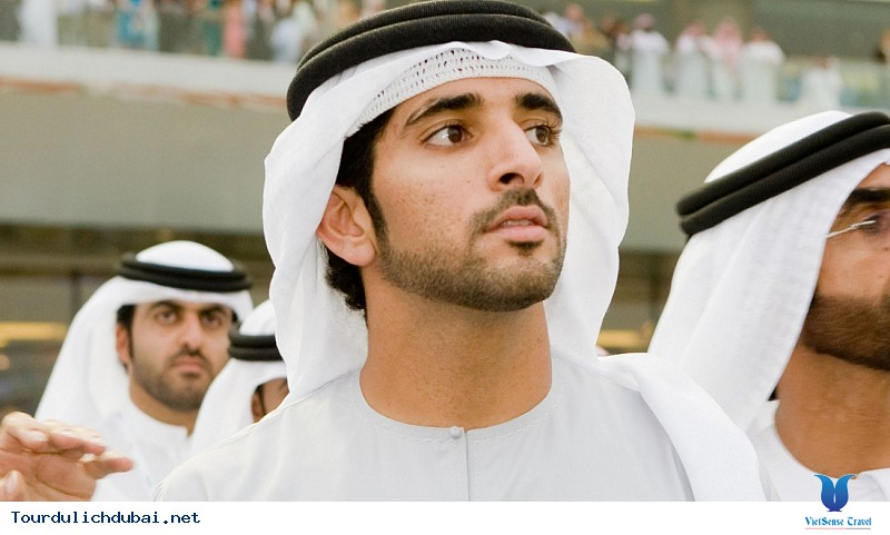 Ngắm nhìn hoàng tử Dubai chuẩn soái ca - Ảnh 3