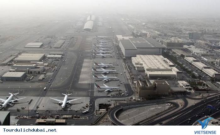 Al Maktoum - sân bay lớn nhất trên thế giới tại Dubai - Ảnh 1