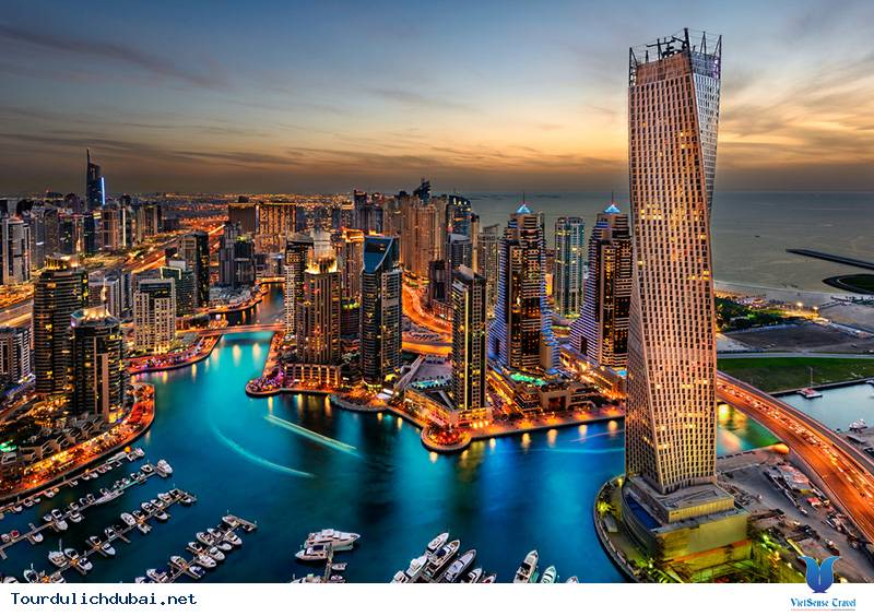 Bến Du Thuyền Dubai Marina,Ben Du Thuyen Dubai Marina
