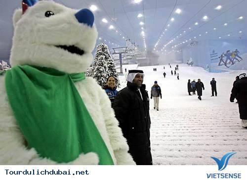Khu trượt băng trong nhà ở Mall of Emirates