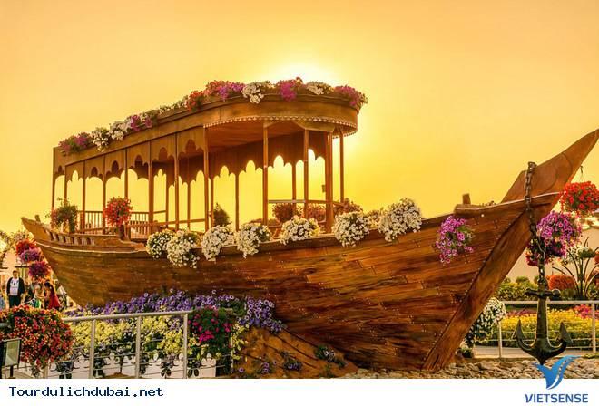 Chiêm Ngưỡng Vườn Hoa Diệu Kỳ Giữa Sa Mạc Ở Dubai - Ảnh 5