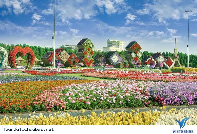 Chiêm Ngưỡng Vườn Hoa Diệu Kỳ Giữa Sa Mạc Ở Dubai - Ảnh 6