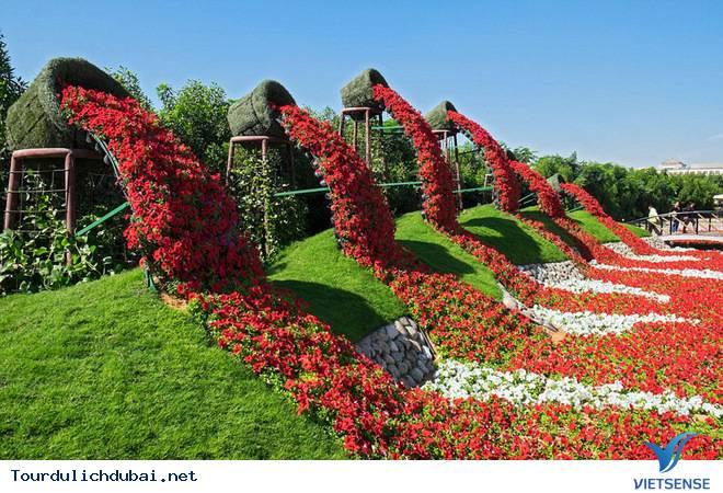 Chiêm Ngưỡng Vườn Hoa Diệu Kỳ Giữa Sa Mạc Ở Dubai - Ảnh 3