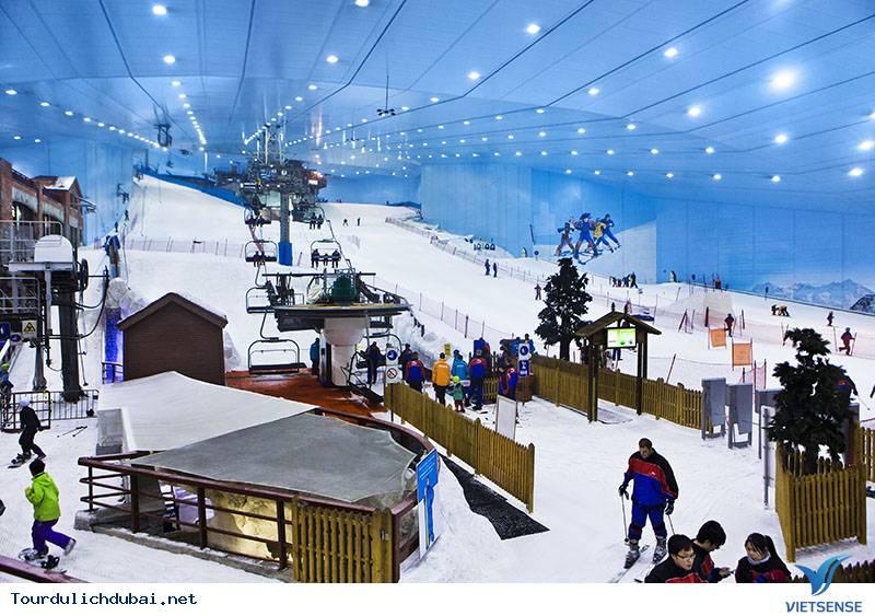 Công Viên Trượt Tuyết Ski Dubai - Ảnh 2