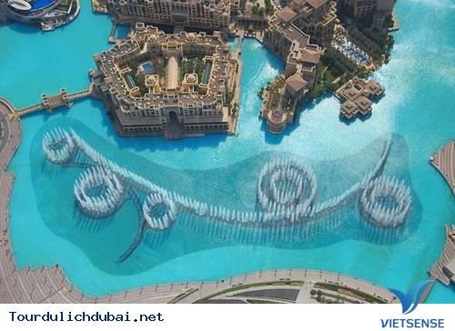 Đài Phun Nước Dubai - Ảnh 1