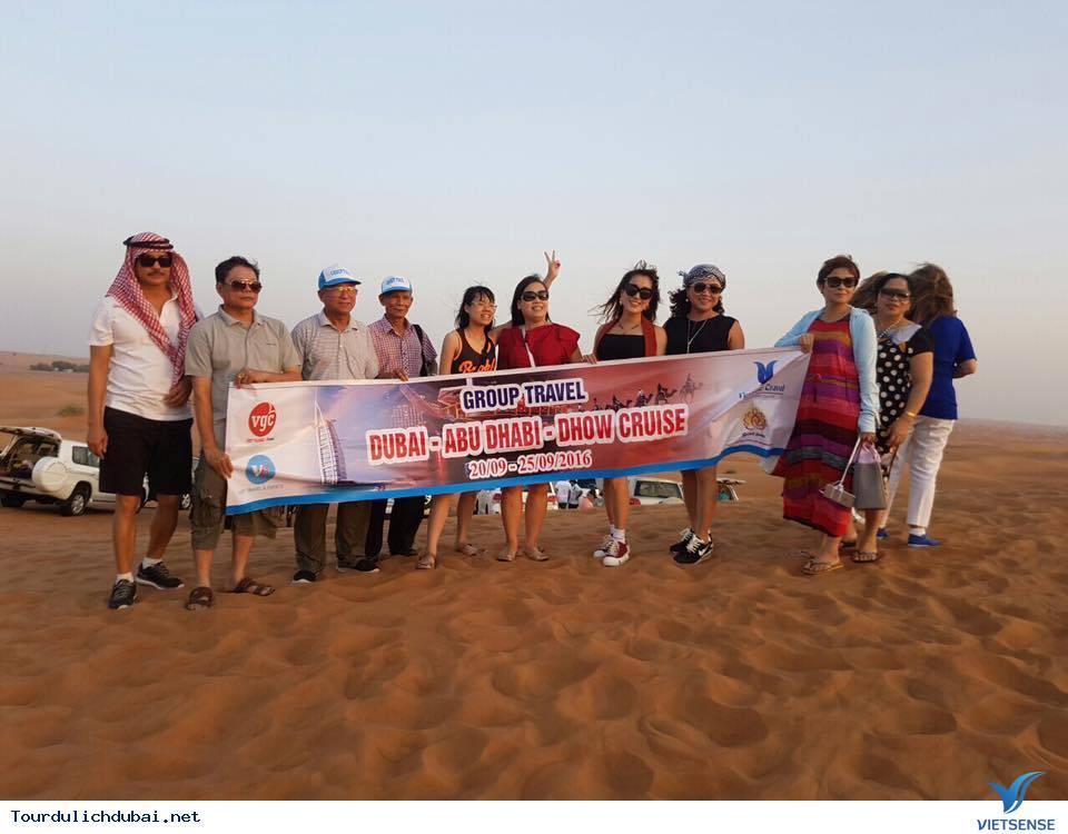 Hình ảnh đoàn du lịch Dubai khởi hành ngày 20/09 - 25/09/2016 - Ảnh 6