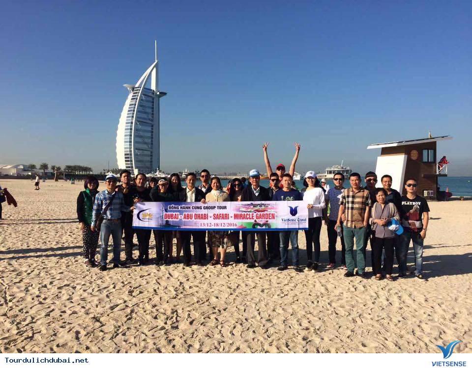 Hình ảnh đoàn Du lịch Dubai khởi hành ngày 13/12-18/12/2016 - Ảnh 1