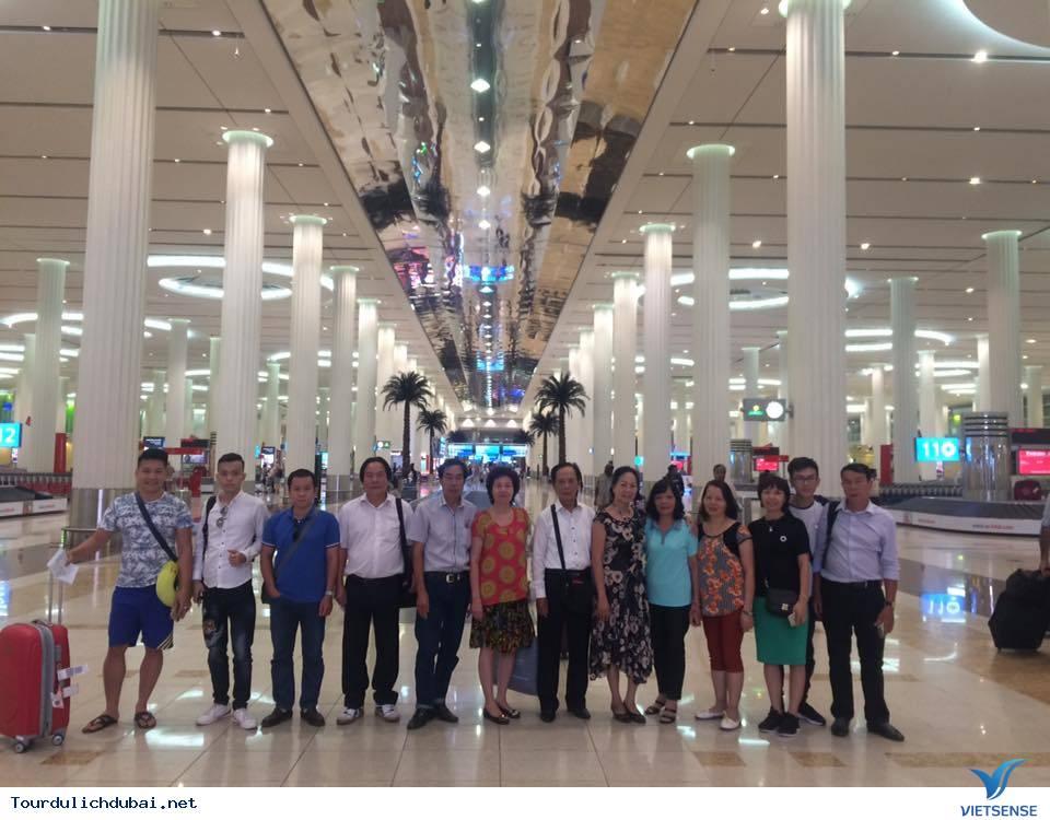 Hình ảnh đoàn du lịch Dubai khởi hành ngày 04/10-09/10/2016 - Ảnh 1