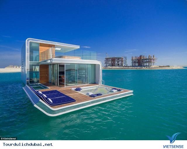 Dự án điên rồ với biệt thự giữa biển của Dubai,du an dien ro voi biet thu giua bien cua dubai