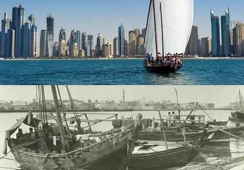 So sánh Dubai 5 thập kỷ trước và ngày nay - Ảnh 1