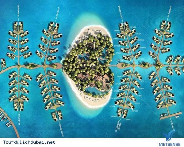 Dubai Chuẩn Bị Ra Mắt Hòn Đảo Nhân Tạo St Petersburg - Ảnh 1