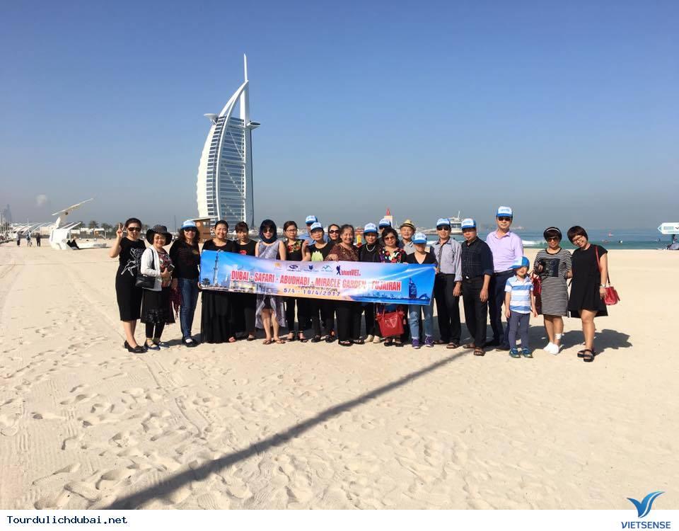 Hình ảnh đoàn du lịch Dubai 5/4-10/4/2017 do Vietsense tổ chức - Ảnh 4