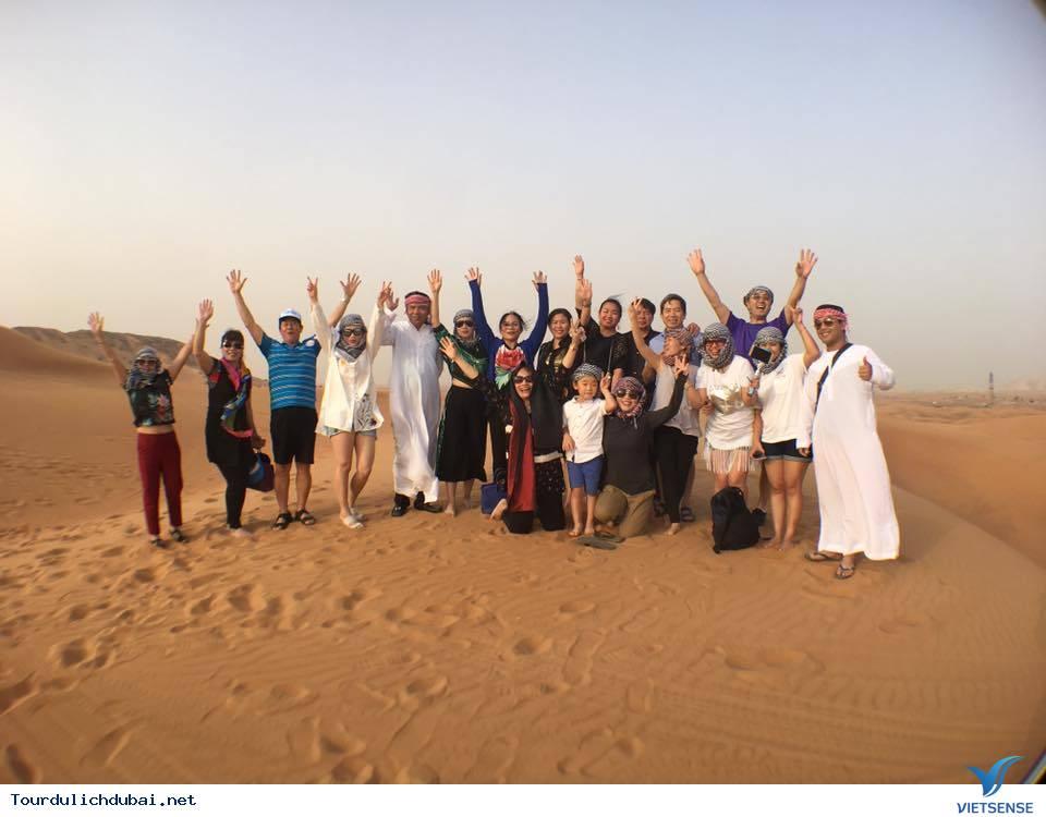 Hình ảnh đoàn du lịch Dubai 5/4-10/4/2017 do Vietsense tổ chức - Ảnh 5