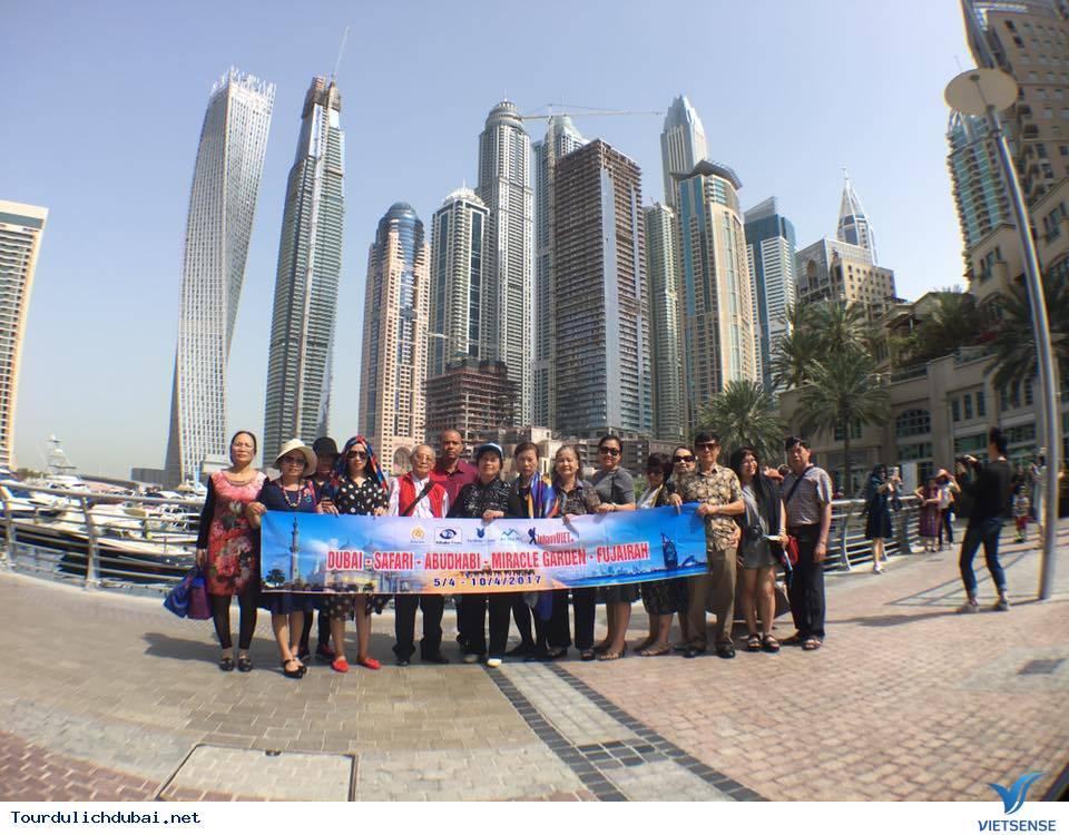 Hình ảnh đoàn du lịch Dubai 5/4-10/4/2017 do Vietsense tổ chức - Ảnh 1