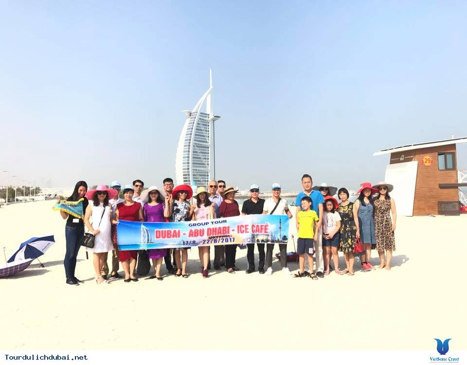Hình ảnh đoàn Dubai 17/8-22/8/2017 - Ảnh 1