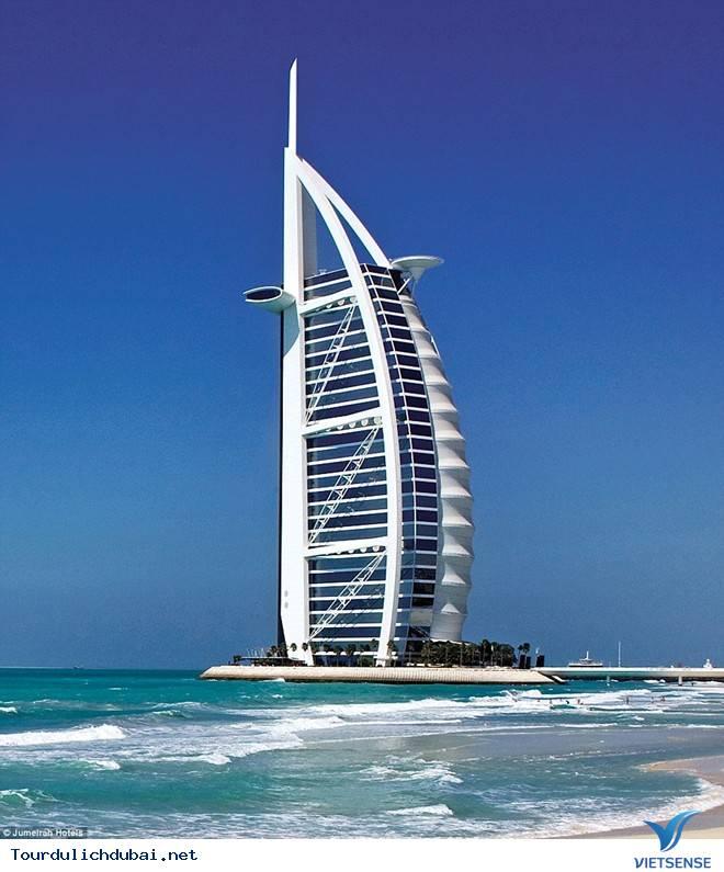 Khách sạn 7 sao Burj Al Arab - Ảnh 2