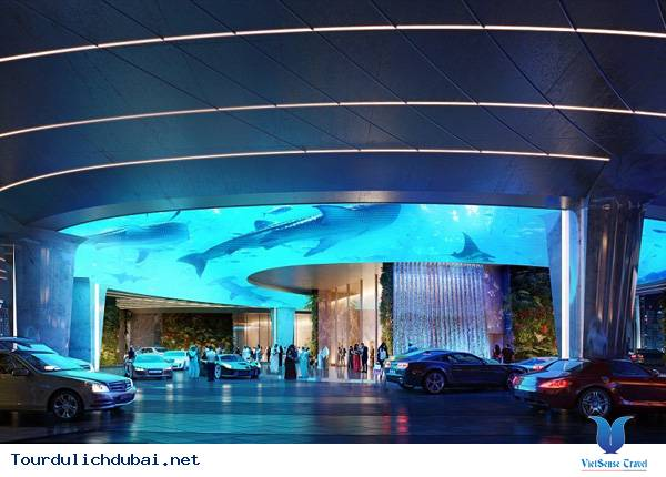 Khách sạn sang trọng tại Dubai có hẳn một khu rừng lớn - Ảnh 8