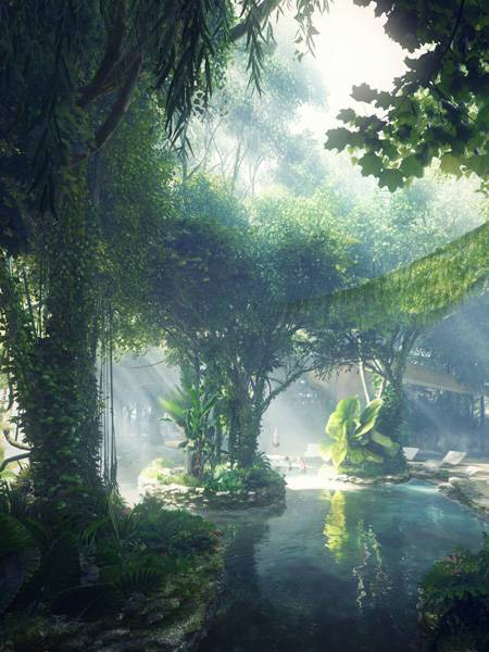 Khách sạn sang trọng tại Dubai có hẳn một khu rừng lớn - Ảnh 5