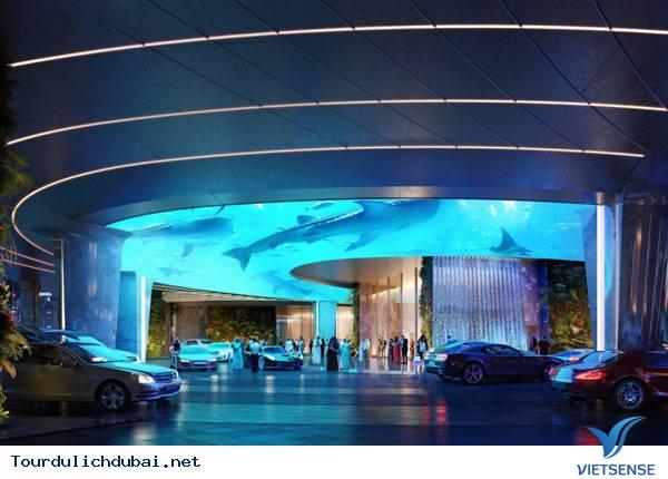 Khách sạn sang trọng tại Dubai có hẳn một khu rừng lớn - Ảnh 2