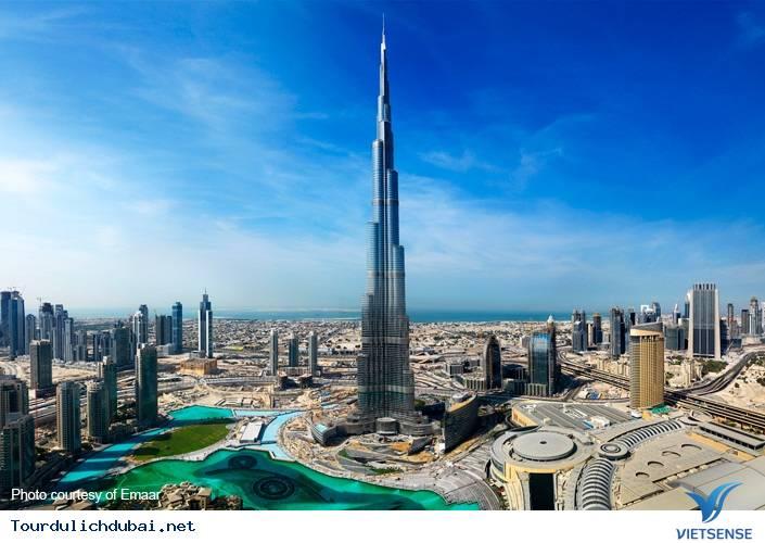 Khám phá Burj Khalifa thật đơn giản - Ảnh 1