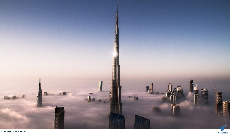 Khám phá Burj Khalifa thật đơn giản