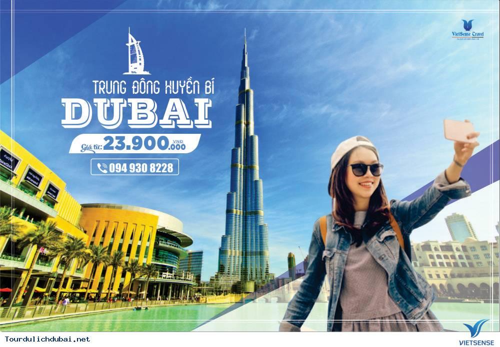 Khuyến Mãi Miễn Phí Toàn Bộ Chí Phí Đi Dubai