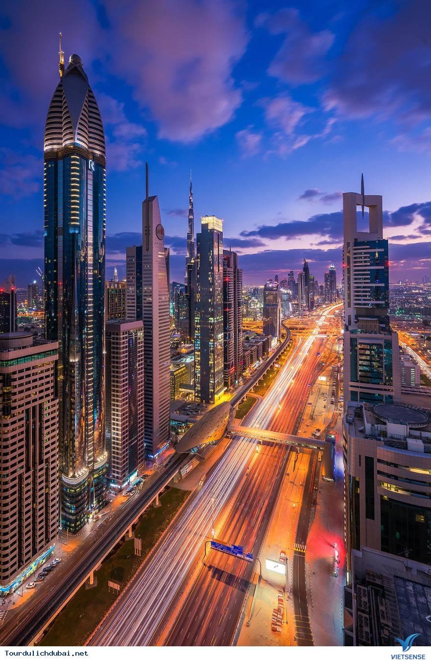 Ngắm nhìn Dubai về đêm đẹp hơn cả tưởng tượng - Ảnh 4