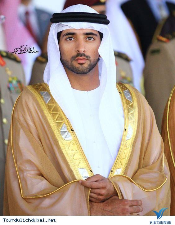 Ngắm nhìn hoàng tử Dubai chuẩn soái ca - Ảnh 2