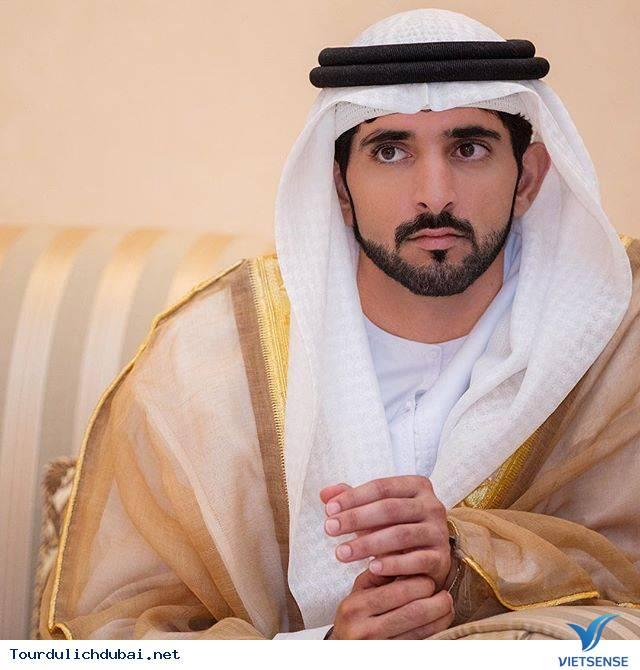 Ngắm nhìn hoàng tử Dubai chuẩn soái ca - Ảnh 1