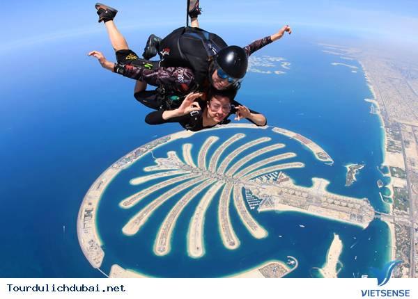 Nhảy dù Dubai - Skydive Dubai